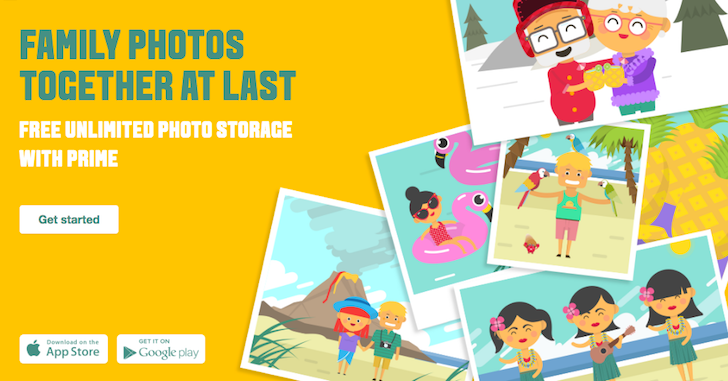 Amazon improves Prime Photos with Family Vault, including free unlimited photo storage for up to 5 members