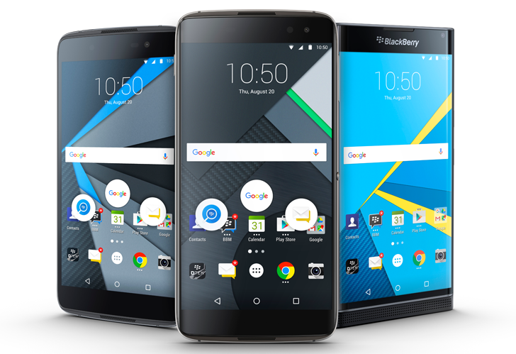 BlackBerry DTEK60 is official, available today for $499