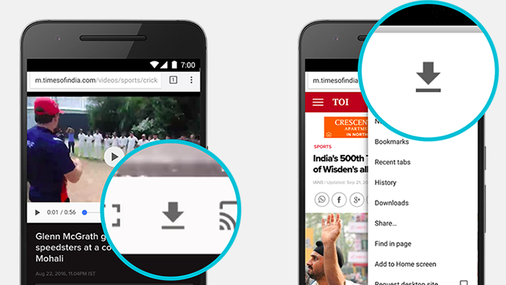 Chrome 55 Beta adds Download Manager, offline pages, media player changes, and more [APK Download]