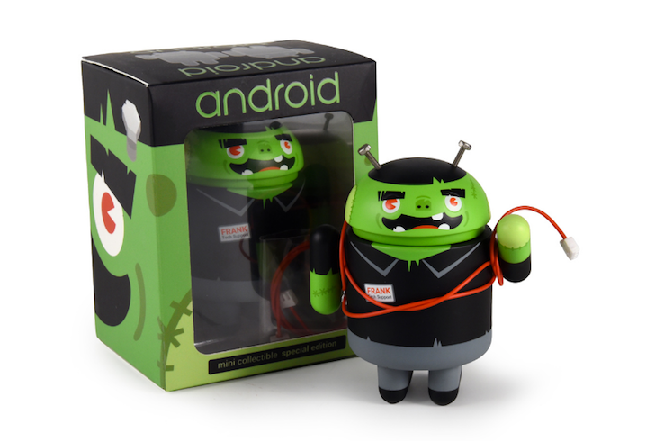 """DeadZebra releases special edition Frank """"tech support"""" Patches collectible Android figurine"""