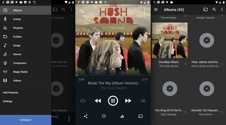 DoubleTwist Player update brings a fresh UI and support for Chromecast, Android Wear, and Android Auto