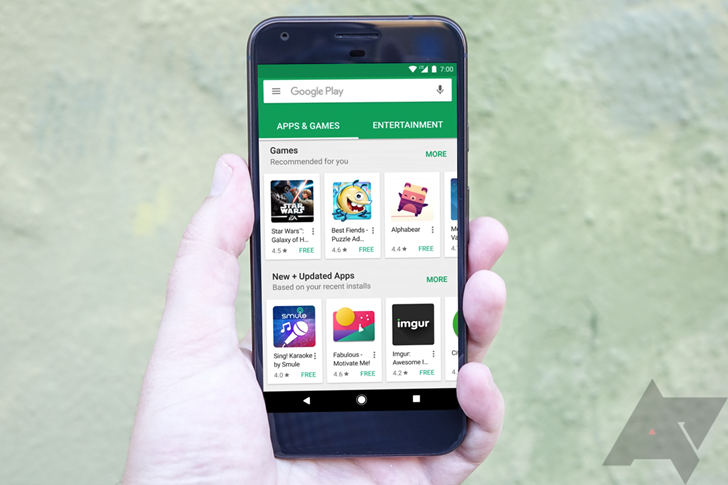 Pixel support video shows a possible preview of Play Store UI changes