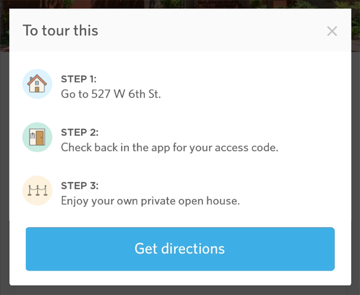 Opendoor lets you take private open house tours at your own convenience