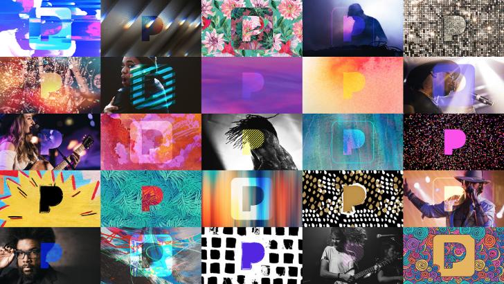 Pandora unveils a brand new, slightly psychedelic brand identity