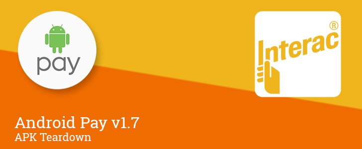Android Pay v1.7 reveals upcoming support for debit cards in Canada [APK Teardown]