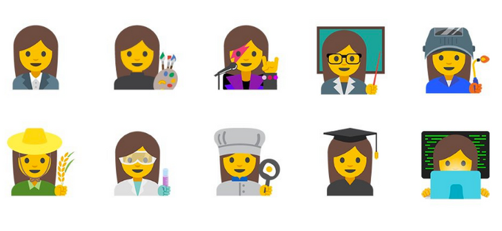 Android 7.1 feature spotlight: Google implements hundreds of new emojis for professions, gender equality, more