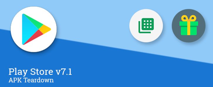 Play Store v7.1 adds a round launcher icon and an app shortcut in preparation for the Pixel Launcher and Android 7.1, and more [APK Teardown]