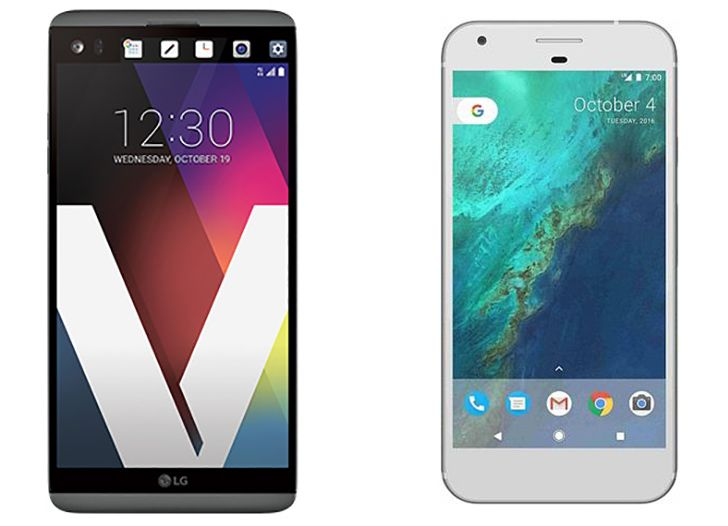Verizon launches the Pixel and LG V20 today