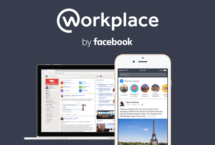 Facebook at Work is now Workplace by Facebook, available for all companies