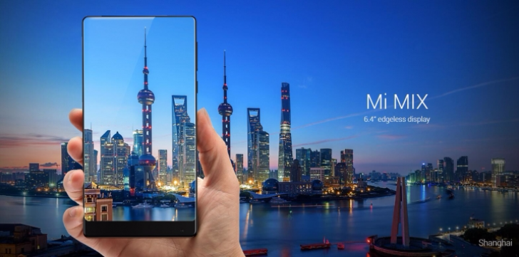 "[What bezel?] Xiaomi Mi Mix is a 6.4"" giant phone with 91.3% screen-to-body ratio"