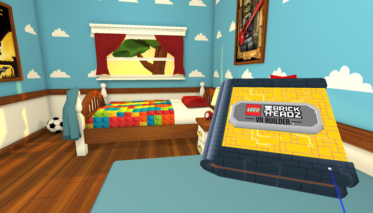 [Update: it's gone] LEGO jumps into the virtual reality game with Brickheadz for Daydream VR