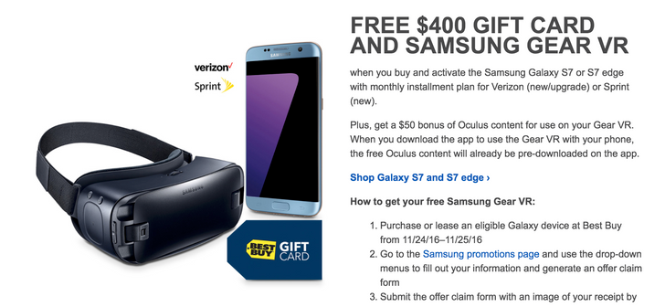 [Deal Alert] Save up to $500 on the Galaxy S7 and S7 edge, LG G5, Moto Z Droid, and more at Best Buy
