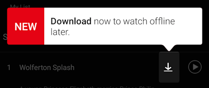 [Update: APK Download] Netflix is finally allowing users to download movies and TV shows for offline viewing