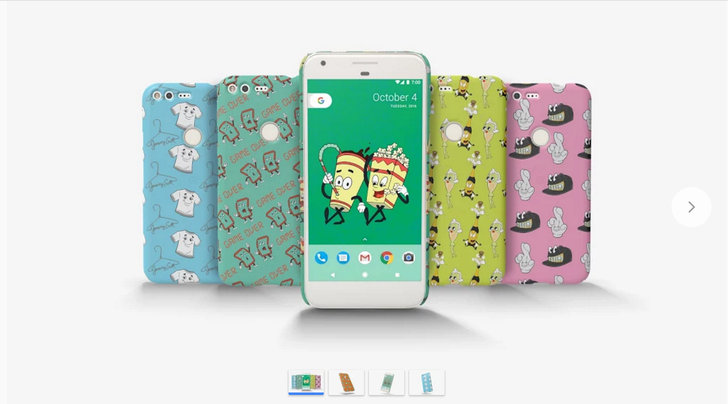 New Jeremy Scott Live Cases are now available in the Google Store