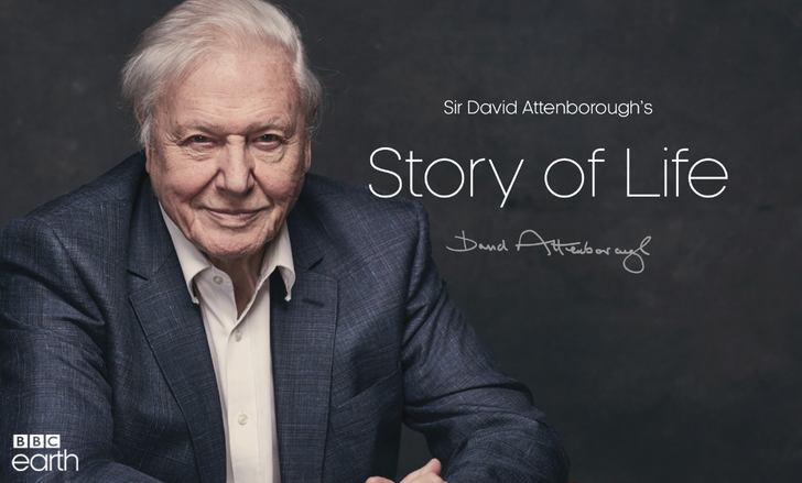 BBC releases the Story of Life, a collection of Sir David Attenborough's work