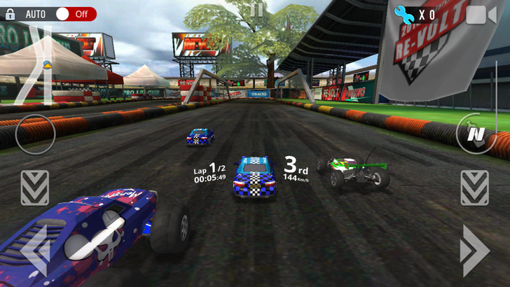 Re-Volt3 hits the Play Store with frantic, competitive RC racing