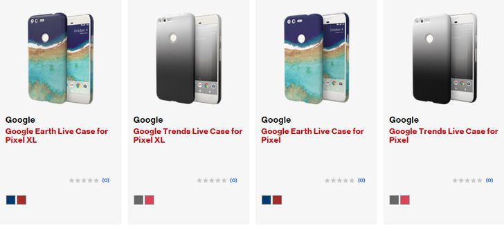 [Update: Now on the Google Store] Verizon shows two new Live Cases for the Pixels that don't seem to be announced yet