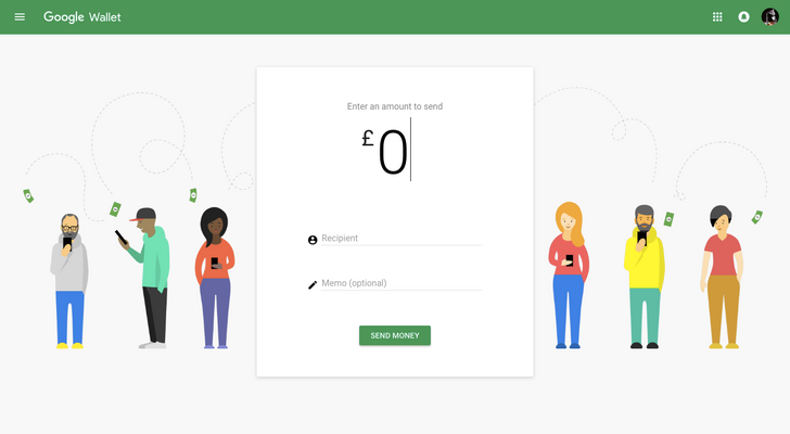 Google Wallet's web app goes material, looks the same as the Android app