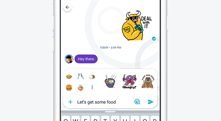 Allo 3.0 introduces chat themes, suggested stickers and emoji, and Fantastic Beasts stickers
