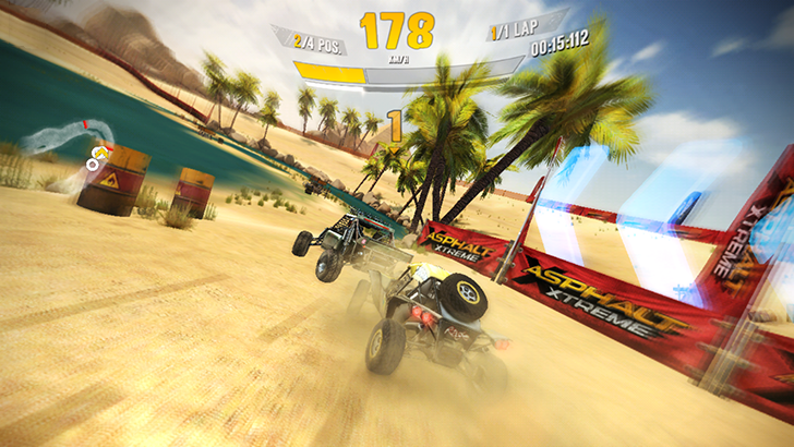 Asphalt Xtreme is out on the Play Store, with all the off-road racing you could want