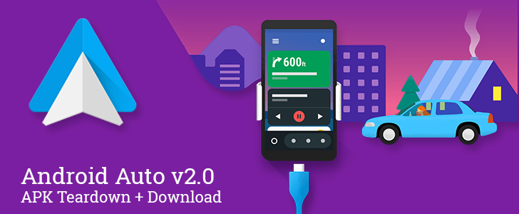 Android Auto v2.0 has a jump shortcut for lists in audio apps and prepares to add several new settings and a homescreen shortcut [APK Teardown + Download]