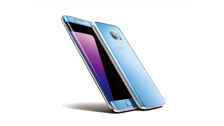 The Blue Coral Samsung Galaxy S7 Edge is now available at the big 4 US carriers