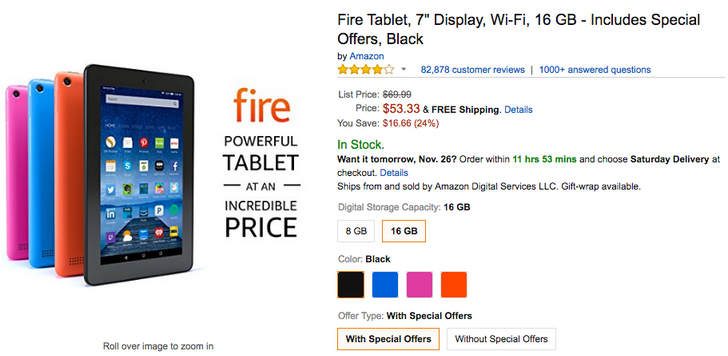 [Deal Alert] Amazon Fire tablets are as low as $33.33 ($16.66-$30 off)