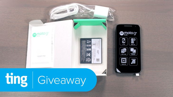 [Update: Winners] Win one of five Moto G4 Plays from Ting and Android Police