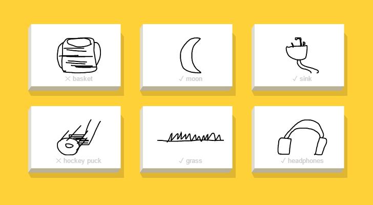 'Quick, Draw!' is like Draw Something, but with Google's artificial intelligence network