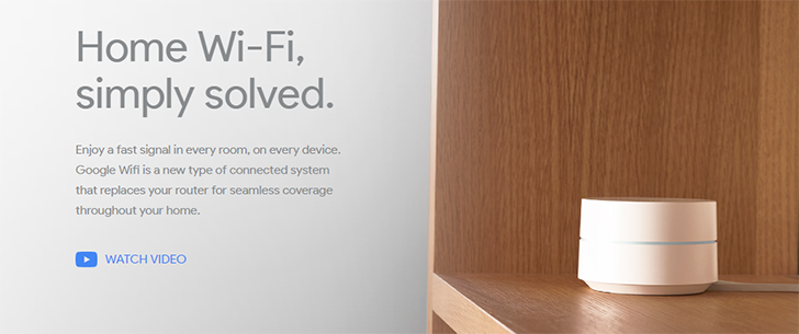 Google Wifi can now be pre-ordered from Google Store, B&H, Walmart, Amazon, and Best Buy