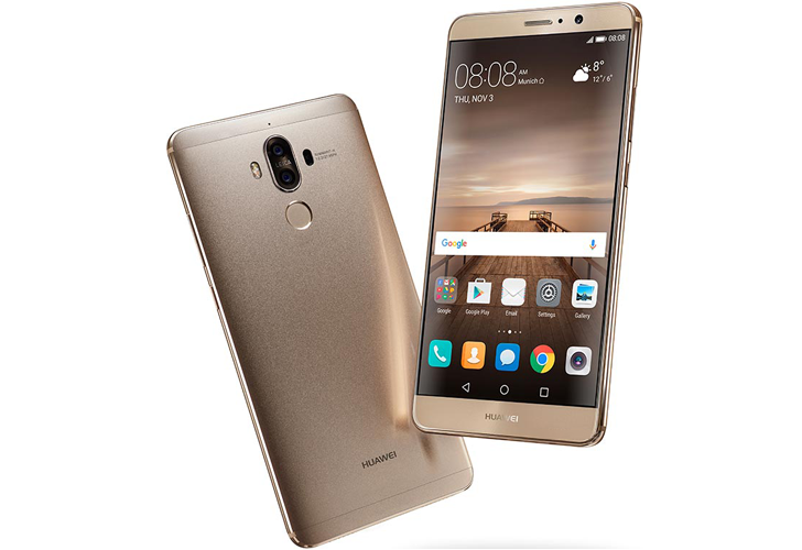 Huawei announces the Mate 9 with a giant 5.9-inch display and speedy Kirin 960 SoC