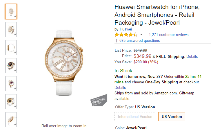 [Update: More models on sale] [Deal Alert] Multiple Huawei Watch models are up to $200 off on Amazon, B&H, Best Buy, and Walmart