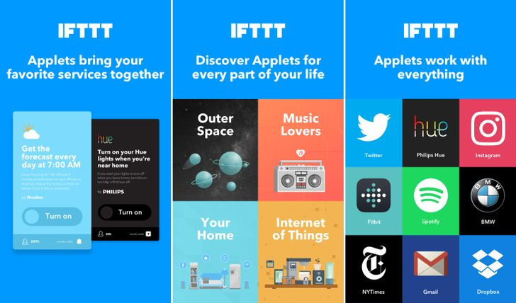 IFTTT renames Recipes to 'Applets' and redesigns app in v3.0 update
