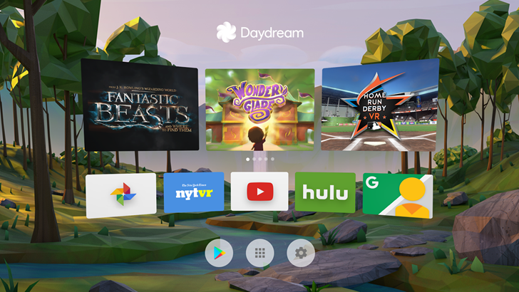 The official Daydream app is up on the Play Store