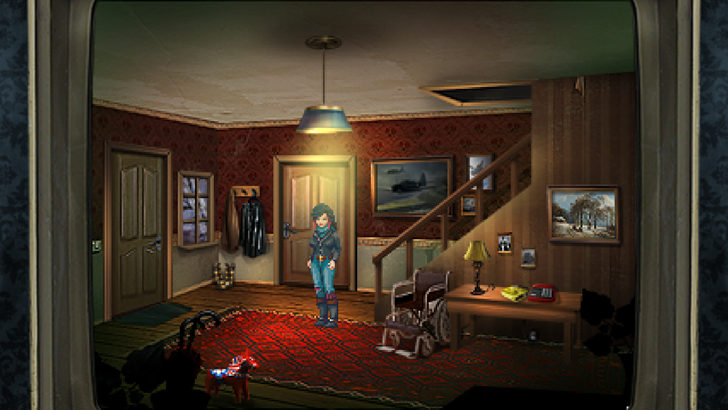 Kathy Rain brings an original detective story wrapped in an old-school adventure game format