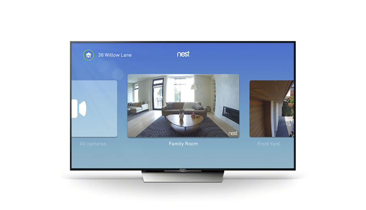 Nest update adds Android TV support, clip saving and sharing