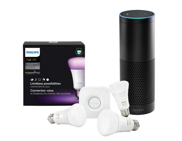 [Deal alert] Purchase a Phillips Hue A19 Starter Kit (3rd gen) and Amazon Echo together at BestBuy for $260 ($120 off)