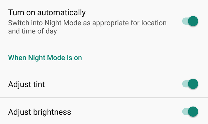 """Google marks """"bug"""" report about night mode being removed from Nexuses as """"FutureRelease,"""" implications unclear"""