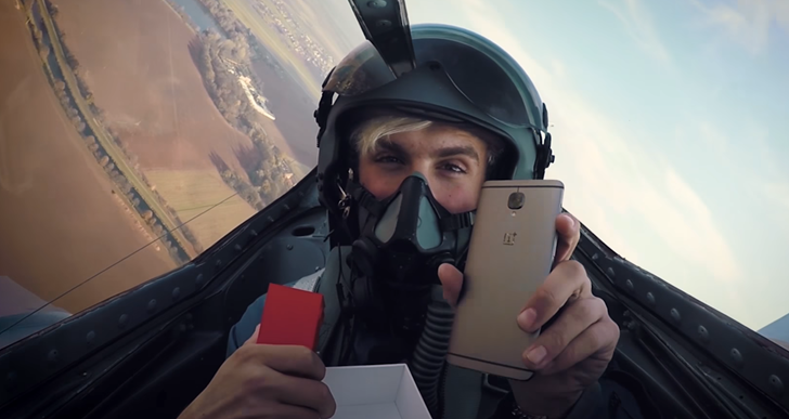 OnePlus 3T now on sale in Europe, commemorated with a crazy fighter jet unboxing video