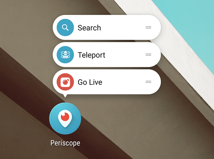 Periscope 1.8.1 adds app shortcuts for Android 7.1, new options for broadcasting [APK Download]