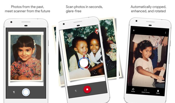 Google announces PhotoScan app to digitize your old photos and improved editing tools in Google Photos