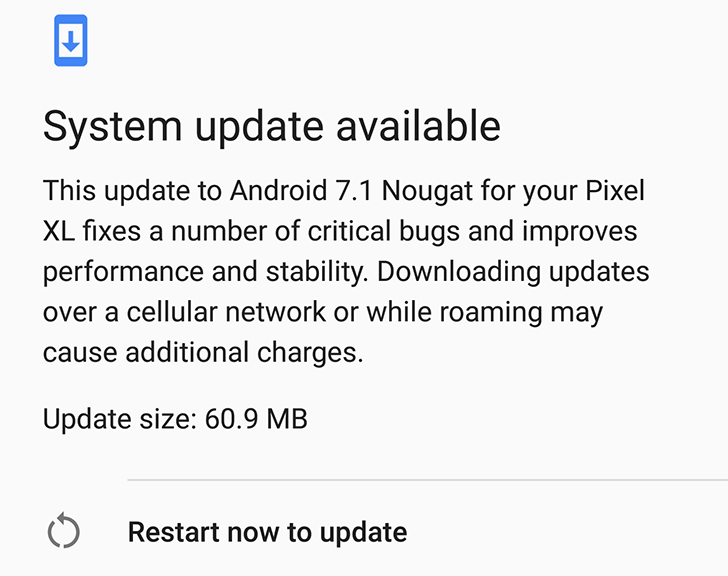 Hands-on with Android Nougat's seamless update on the Pixel