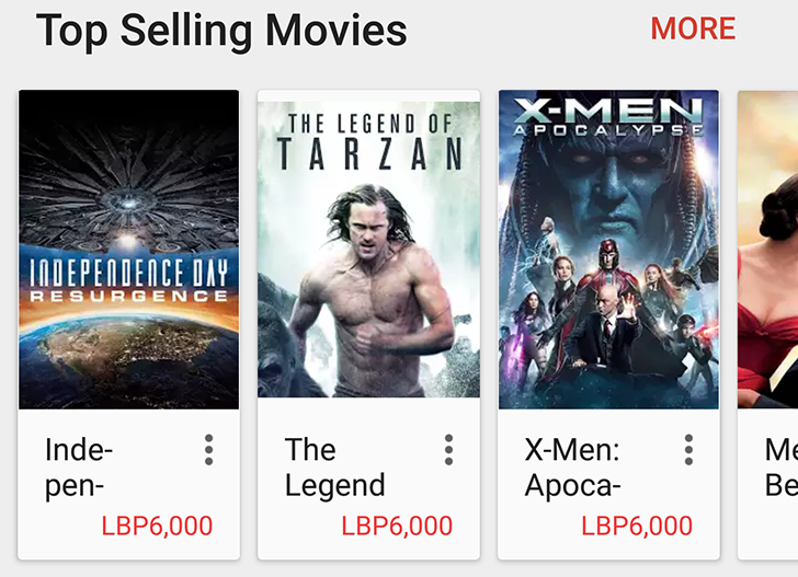 Google Play Movies rolls out in 10 new Middle Eastern countries and Vietnam