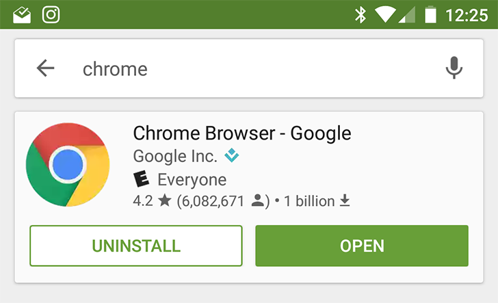 Play Store search results revamped for some users, with new info card for top result