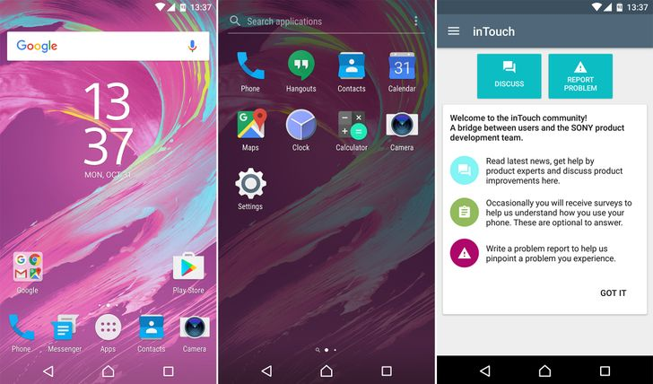 Sony's Concept for Android Nougat firmware now available on Xperia X in Europe