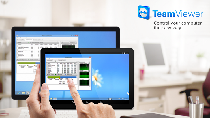 TeamViewer 12 adds mobile-to-mobile remote control, faster performance