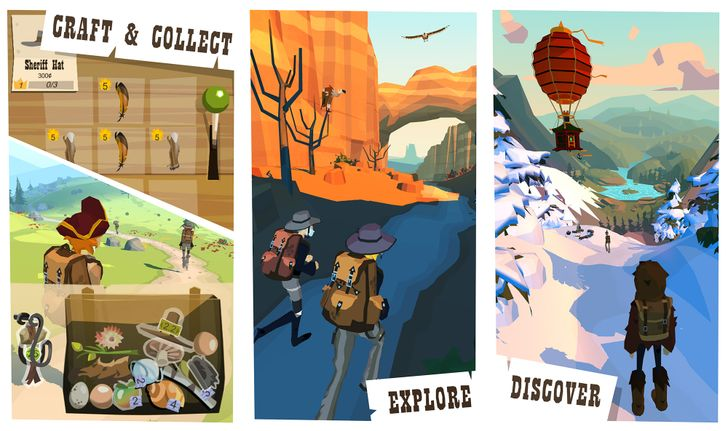 The Trail from designer Peter Molyneux is now available to all in the Play Store