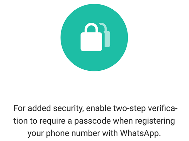 After a few months in beta, WhatsApp's two-step verification is rolling out worldwide