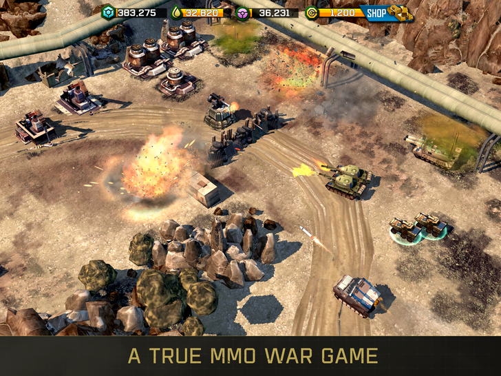 War Commander is a new RTS game from one of the original Command and Conquer creators