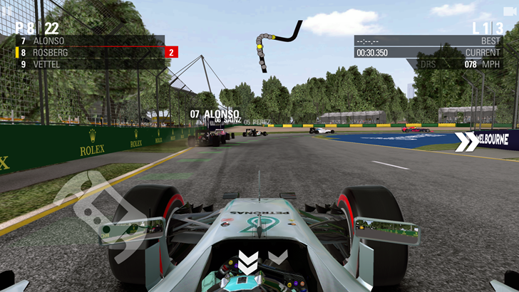 Codemasters ports racing simulator F1 2016 from consoles to Android